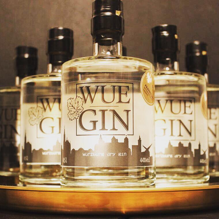 Wuegin Premium Dry Gin Würzburg Start-up