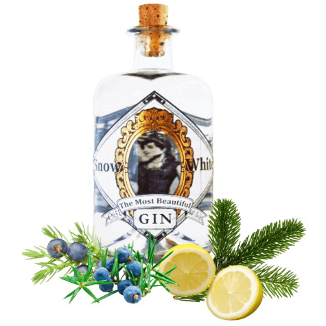 The Most Beautiful Gin - Snow White - Premium Franken Gin