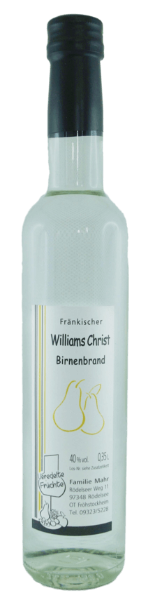 Williams Christ - Birnen Brand - Der Klassiker