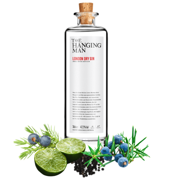 London Dry Gin - The Hanging Man  - Krimi Erlebnis Gin